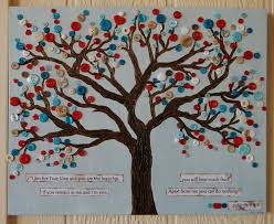 button tree christian scripture wall hanging