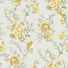 k2 lucy duck egg u0026 yellow floral wallpaper egg yellow floral