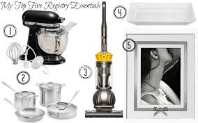top wedding registry places my top 5 registry essentials boston chic party boston chic party