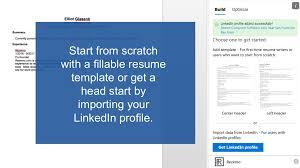 resume cv template builder u0026 optimizer u2013 microsoft appsource