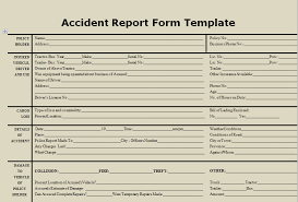 incident report register template report template aradio tk