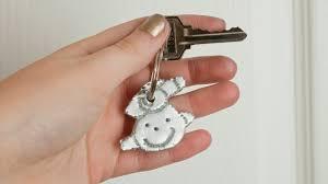 keepsake keychains fathers day diy keepsake keychain