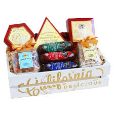 Meat And Cheese Baskets Gourmet Food Gifts Christmas Home Decorating Interior Design