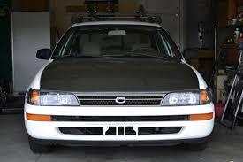 1996 toyota corolla front bumper kickfli12 1996 toyota corolla specs photos modification info at