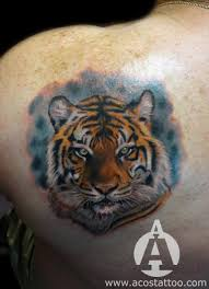 blade realistic tiger tattoo by andres acosta best tattoo ideas