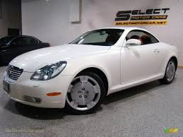 lexus sc430 used cars for sale 2004 lexus sc 430 in white gold crystal 054796 jax sports cars