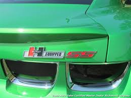 synergy green camaro ss for sale 2011 chevrolet camaro ss synergy green 2ss hurst edition turbo charged