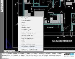 layout có nghia là gì cách xuất bản vẽ layout ra model trong autocad phần 1 trang học