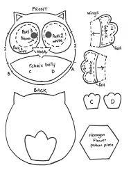 8 best images of owl printable template martha stewart martha