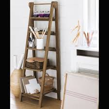 leaning ladder shelf furniture u2014 optimizing home decor ideas