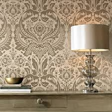 Silver Metallic Wallpaper by Desire Taupe And Metallic Wallpaper Graham U0026 Brown
