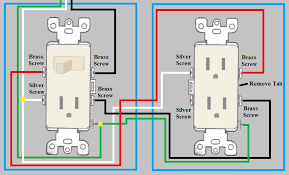 electrical how do i wire a duplex outlet from a switch outlet