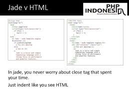 jade lang layout php indonesia nodejs web development