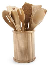 european kitchen gadgets amazon com core bamboo classic 14 piece kitchen utensil set