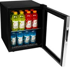 red bull table top fridge stainless steel beverage cooler mini fridge compact glass door can