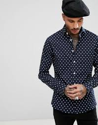 skinny shirts for men skinny fit u0026 fitted shirts asos