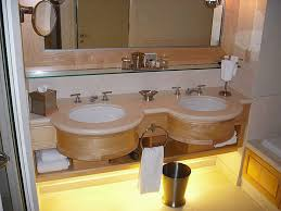 bathroom unique round sinks with top mounted faucets design and