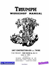 triumph repair manual 63 70 pump propulsion