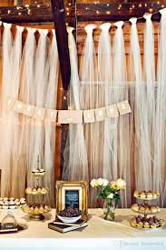 beach wedding decorations tulle fabric wedding supplies sheer 200m