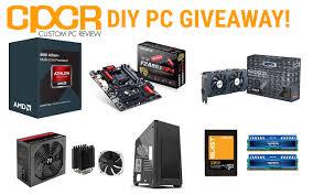 diy custom gaming pc giveaway with amd xfx patriot thermaltake