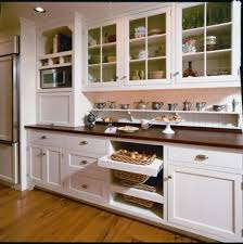 Tambour Doors For Kitchen Cabinets Breadbox In Kitchen Traditional With Tambour Door Next To