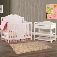 storkcraft princess convertible crib in white free shipping
