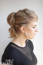 ponytail hair the pinned up ponytail hairstyle tutorial hair