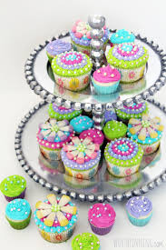 mothers u0027 day flower cupcakes