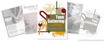 church event flyer templates churchart online