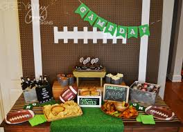 football party ideas greygrey designs my home gating football party