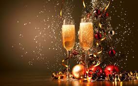 happy new year 2016 celebration chagne glasses desktop wallpaper