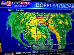 Doppler Radar Map Hurricane Irma Florida Parks Updates Page 4 Theme Park Review