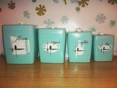 vintage canisters for kitchen 4 pink plastic canister set 1960s kitchen