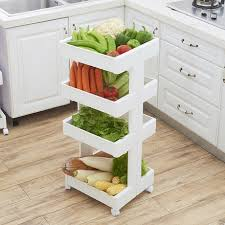 vegetable storage kitchen cabinets japanese style kitchen racks floor to ceiling multi layer