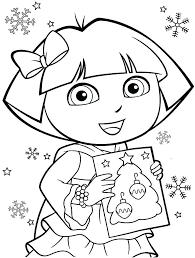 dora coloring pages for toddlers dora coloring sheets gerin
