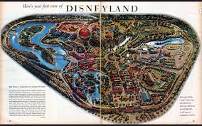 Google Maps Disney World by Map Of Disneyland Right Before It Opened In 1955 2560 X 1600