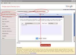 pattern rule directory openldap ldap google apps exclusion list server fault