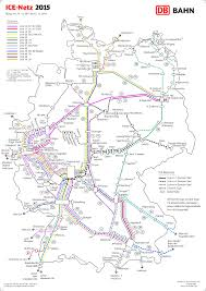 Lubeck Germany Map by Railway Map On High Speed Trains In Germany Ice Netz Deutschland