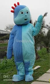 night garden iggle piggle mascot costume fancy dress