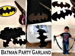 batman birthday party spoonful of imagination