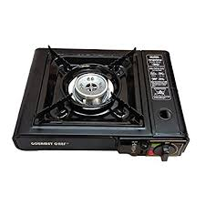 portable table top butane stove amazon com gourmet chef portable single butane gas stove cing
