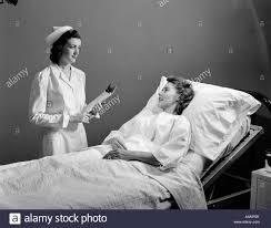 sick bed woman sick bed black and white stock photos images alamy