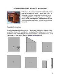 free building plans build your own free library free plans included free