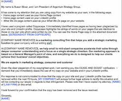 sample of marketing letters to business content creator 7 responses to plagiarism
