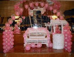 Balloon Decoration For Baby Shower Balloon Arches U0026 Decor Bklynfavors Event Decorators