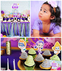 kara u0027s party ideas bubble guppies inspired birthday party decor