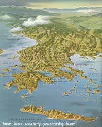 Map Of Ancient Greece by Greece Geography Lessons Tes Teach