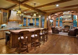 homes with open floor plans open floor plans prevail in the lakeside home traditional