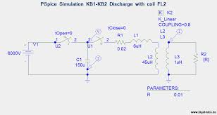 discharge behavior of capacitor banks