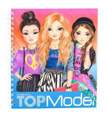 Top model coloriages  coloriage à imprimer  top model à colorier